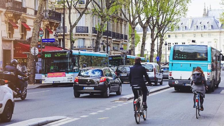 Gowes sepeda di Prancis (iStock)