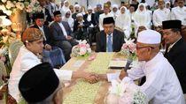 Momen JK Jadi Saksi Nikah Putri Gubernur Khofifah