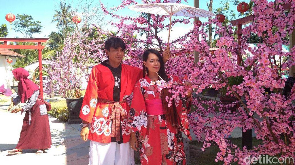 Foto: Bukan di Jepang, Ini di Blitar