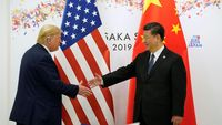 China Serang Balik Trump, Barang AS US$ 75 Miliar Kena Tarif Baru