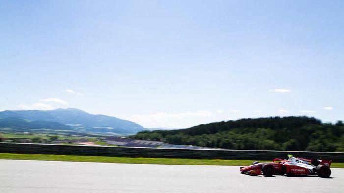Sean Gelael start ke-11 di feature race F2 Austria (dok.Sean Gelael)