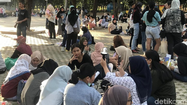 Foto: Suasana fanmeeting Kim Jae Hwan / Dinda Ayu Islami