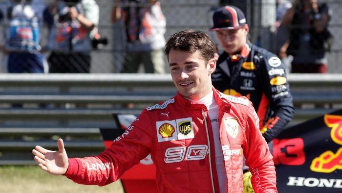 Charles Leclerc raih pole di kualifikasi F1 GP Austria 2019 (REUTERS/Leonhard Foeger)