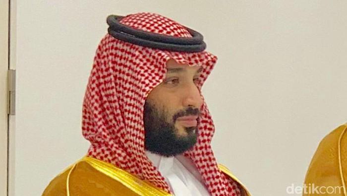 Presiden Jokowi menggelar pertemuan bilateral dengan Putra Mahkota Arab Saudi Mohammad Bin Salman