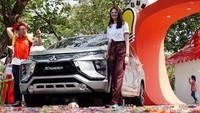 Mobil keluarga punya Mitsubishi, Xpander ada di urutan ketiga dengan penjualan 57.347 unit selama Januari-November 2019. Foto: Rachman Haryanto