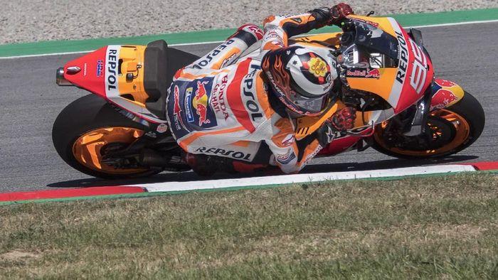Jorge Lorenzo dimaklumi kalau tidak dalam kondisi 100% di MotoGP Inggris. Foto: Mirco Lazzari gp / Getty Images