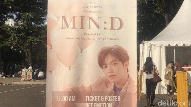 Perasaan Campur-aduk Fans Jelang Fanmeeting 'MIN:D' Kim Jaehwan Malam Ini