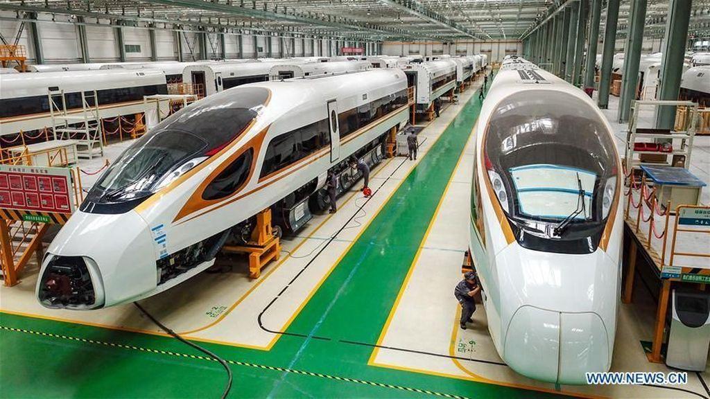 Kereta Cepat Buatan China Ini Dipakai Brasil hingga AS