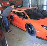 Intip Bengkel Modifikasi Replika Lamborghini dan Ferrari di Bandung