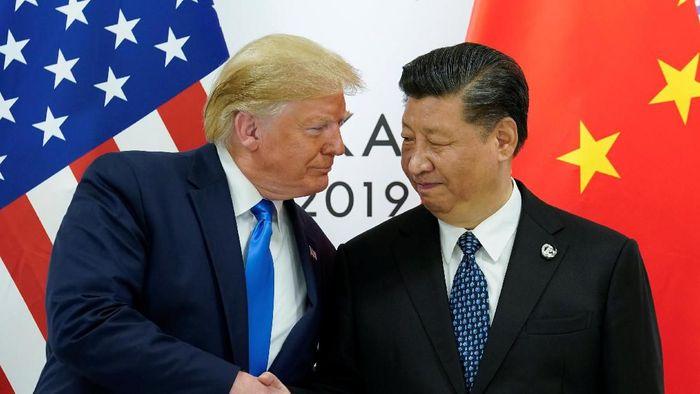 Pertemuan Presiden AS Donald Trump dan Presiden China Xi Jinping/Foto: Reuters