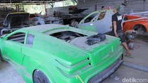Ronny Nopirman, Pembuat Replika Mobil Mewah Asal Bandung