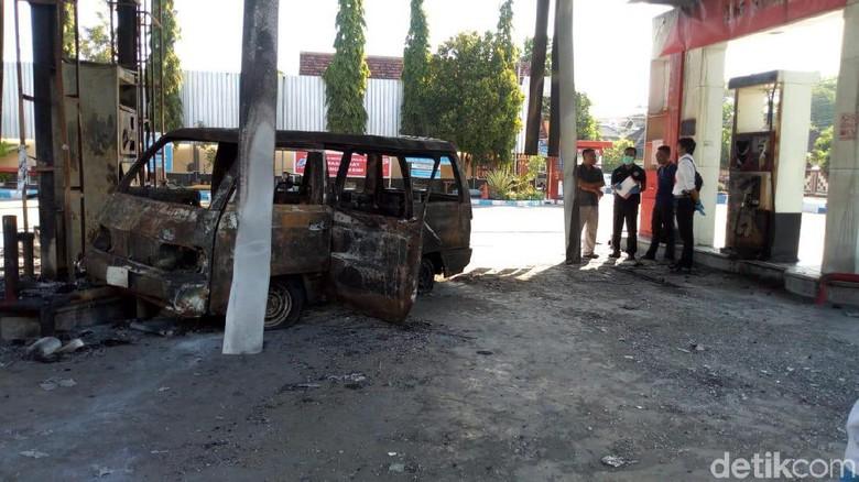 SPBU Terbakar di Ponorogo Masih Tutup, Operator Diikutkan Pelatihan