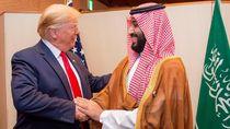 Momen Hangat Pertemuan Trump dan Putra Mahkota Arab Saudi di KTT G20