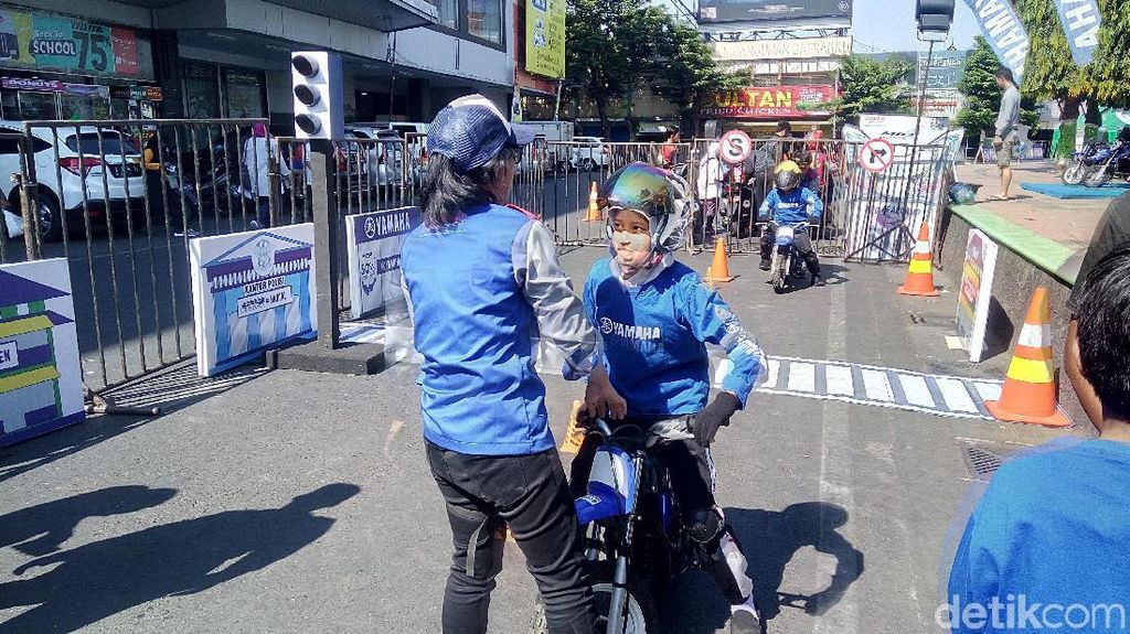 Lewat BYMS, Yamaha Ajarkan Safety Riding untuk Anak