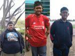 Bobot Menyusut 105 Kg, Aria Kini Aktif Bermain Sepak Bola