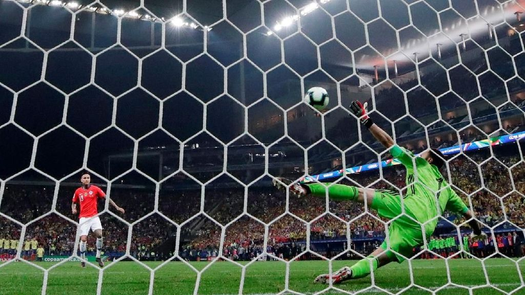 Kalau Urusan Adu Penalti, Chile Selalu Percaya Diri