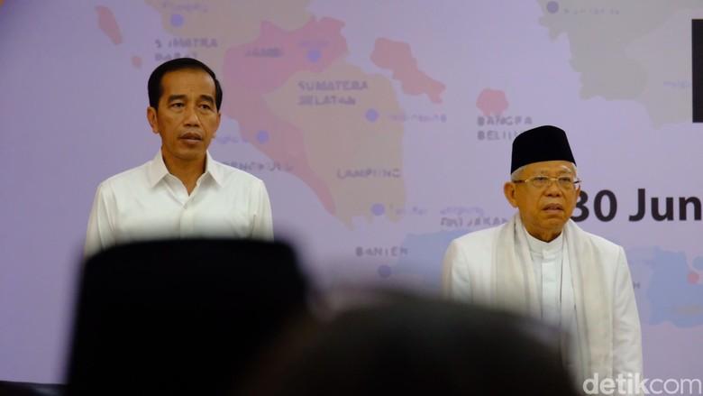 Jokowi: Lupakan Perbedaan Pilihan Politik 02-01 yang Membelah Kita