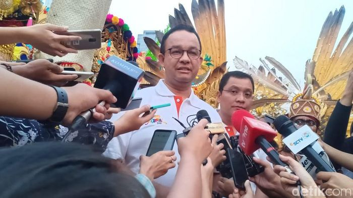 Foto: Gubernur DKI Jakarta Anies Baswedan (Wildan/detikcom)