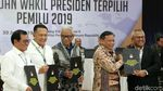 Momen Jokowi-Maruf Ditetapkan Sebagai Presiden dan Wapres Terpilih
