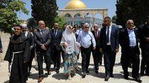 Polisi Israel Tahan Menteri Palestina di Yerusalem
