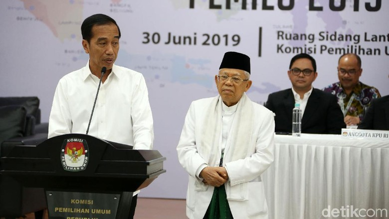 Begini Beda Pidato Jokowi 2014 dan 2019, Kini Ajak Prabowo Bersama