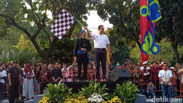 Buka Jakarnaval, Anies: Jakarta Kota Aman dan Damai