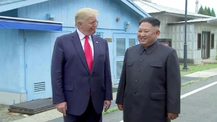 Donald Trump dan Kim Jong Un