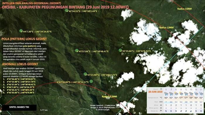 Pencarian heli MI-17 milik Penerbad TNI AD yang hilang kontak di Papua kembali dilanjutkan (Dok. Istimewa)