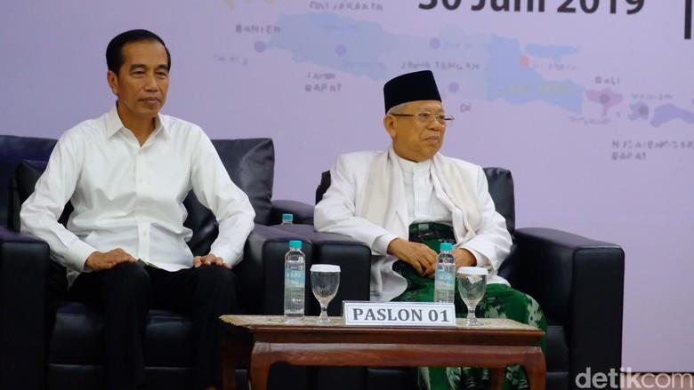 Sah! KPU Tetapkan Jokowi-Maruf Presiden dan Wapres Terpilih