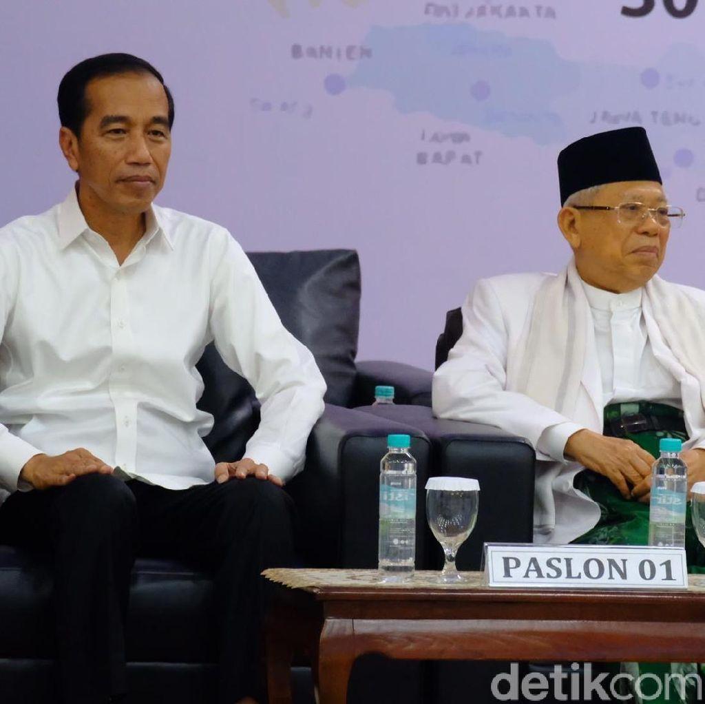 Keputusan KPU soal Jokowi-Maruf Dibacakan di Paripurna Pelantikan