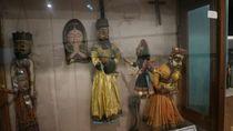 Boneka-boneka Koleksi Museum Wayang, Lucu atau Seram?