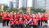 Para Olympian Indonesia Gelar Reuni Sambil Jalan Sehat