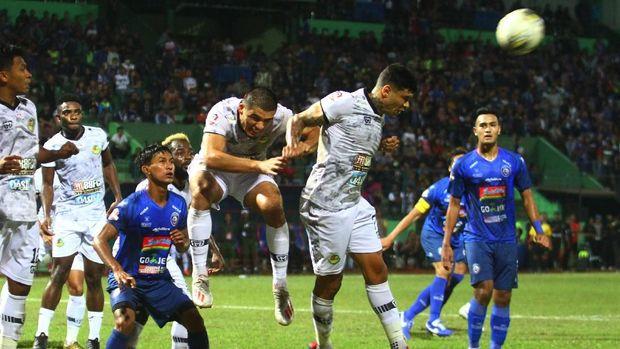 Ciro Alves tampil cemerlang di laga PS Tira vs Persija.