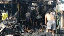 Polisi Duga Kebakaran di Tanah Abang karena Korsleting