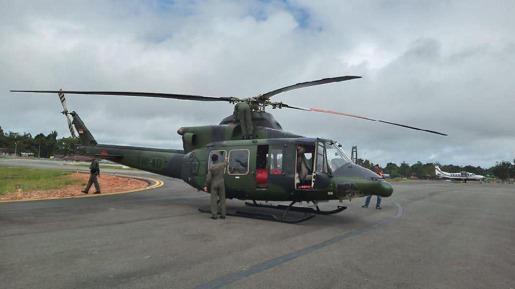 Hari Ke-5, Pencarian Helikopter TNI yang Hilang di Oksibil Papua Masih Nihil