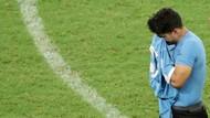Uruguay vs Peru: Tangisan Luis Suarez