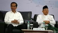 Dalam pleno ini, Jokowi dan Maruf ditetapkan sebagai presiden dan wapres terpilih. Mereka meraih 55,5 persen suara.