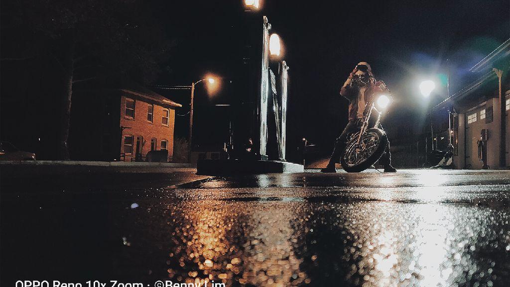OPPO Reno 10x Zoom Andalkan Motret Jauh, Masih Oke di Malam Hari?