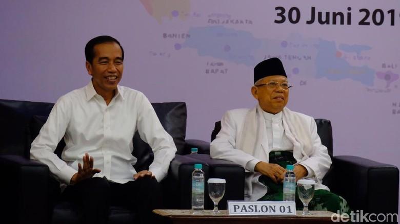 Lusa, Jokowi-Maruf Akan Pidato Visi Indonesia di Sentul