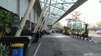 Bandara Husein Sastranegara yang sepi