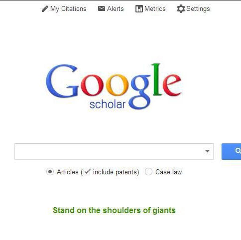 5 Tips Manfaatkan Google Scholar, Banyak yang Belum Tahu!