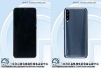 Tampak depan dan belakang dari Xiaomi CC9e.