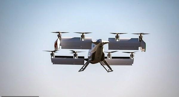 Karena bisa mendarat secara vertikal, otomatis Vahana tidak membutuhkan ruang yang luas. Sehingga cocok untuk dijadikan moda transportasi perkotaan. (dok. Vahana Aero)