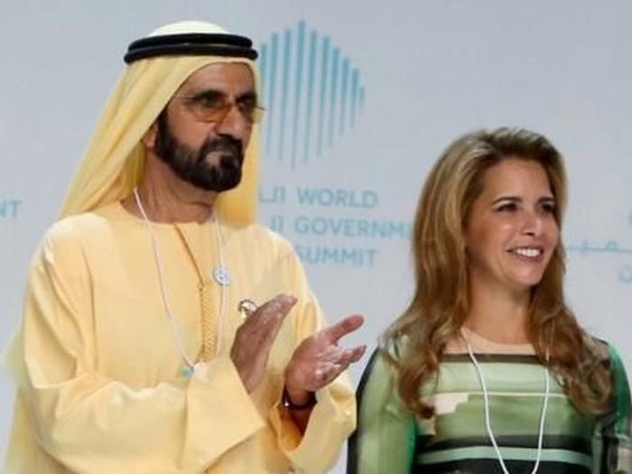 Putri Haya Al Hussein dikabarkan kabur dari suaminya Perdana Menteri dan Wakil Presiden UEA Sheikh Mohammed bin Rashid Al Maktoum.Foto: Dok. AFP