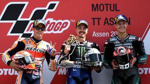 Vinales Juara MotoGP Belanda