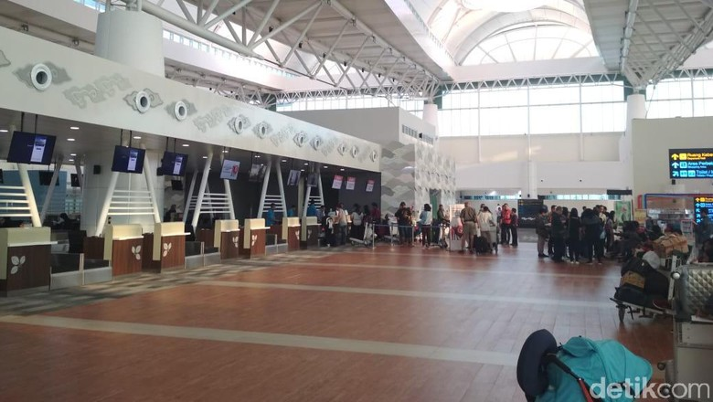 Suasana Bandara Kertajati (Hendra Kusuma/detikcom)