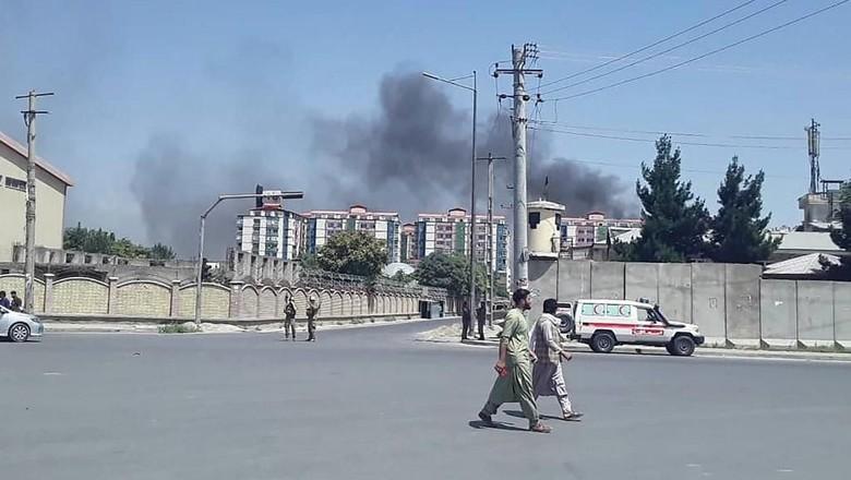 Serangan Taliban di Kabul Lukai 50 Anak-anak