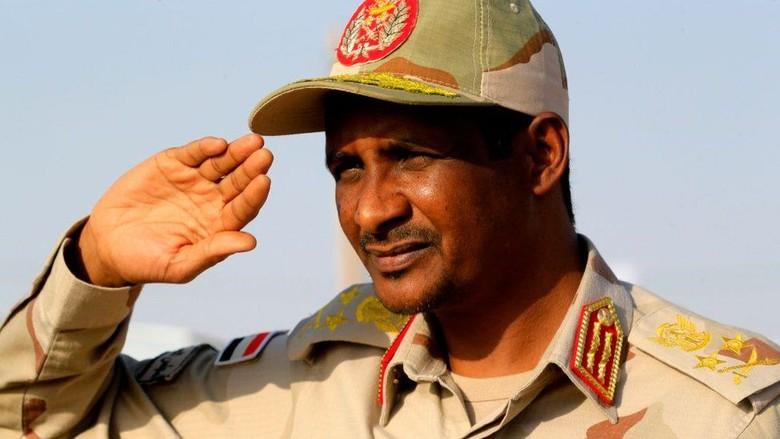 Kisah Hemeti, Penguasa Sudan yang Tak Lulus Sekolah dan Pernah Ekspor Unta