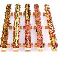 Resto Ini Sajikan Sushi Unik Bertopping Daging Wagyu Mentah