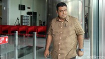 Ekspresi M Nasir Usai Diperiksa Sebagai Saksi Kasus Bowo Sidik
